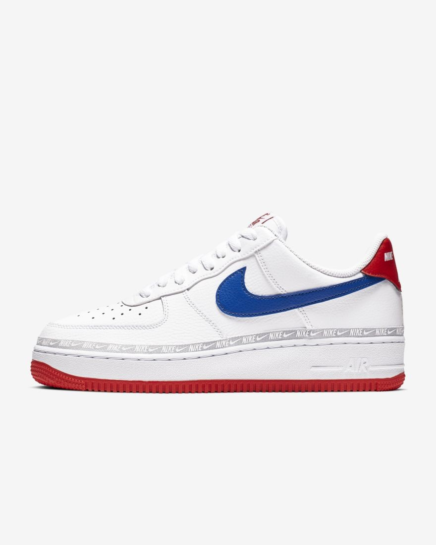 air force 1 bianche e rosse uomo
