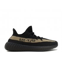 Adidas Yeezy Boost 350 V2 Donna, Uomo Verde/Core Nero Scarpe BY9611