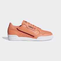 Adidas Originals Continental 80 Donna Scarpe Easy Arancio/Core Nero/Scarlatto CG7124