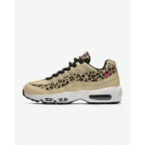 Desert Ore/Nero/Marrone/Laser Fuchsia Donna Scarpe da corsa Nike Air Max 95 Premium Animal CD0180-200