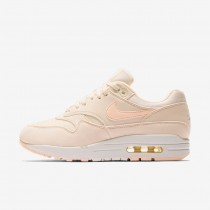 Donna Scarpe da corsa Nike Air Max 1 Guava Ice/Sail/Summit Bianco/Crimson Tint 319986-802