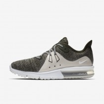 Donna Scarpe Nike Air Max Sequent 3 Sequoia, Light Bone, Argento Metallizzato 908993-300
