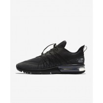 Nike Air Max Sequent 4 Shield AV3236-002 Uomo Scarpe da corsa Nero, Bianco, Antracite