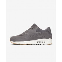 Uomo Scarpe Nike Air Max 90 Ultra 2.0 Grigio Tuono/Light Bone/Gomma Medio Marrone 924447-004