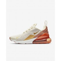 Running Scarpe Nike Air Max 270 Donna Crema leggera/Dusty Peach/Oro Metallizzatoo AH6789-203