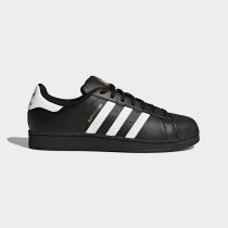 Adidas Donna, Uomo Originals Superstar Core Nero/Footwear Bianco Foundation Scarpe B27140