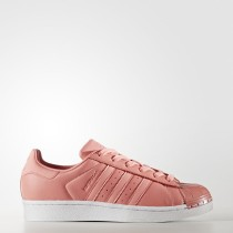 Adidas Donna Originals Superstar 80s Tactile Rose/Footwear Bianco Scarpe BY9750