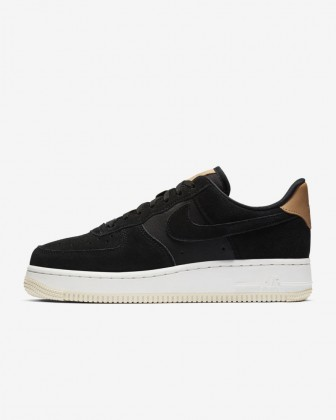 Nike Air Force 1 '07 Low Premium Donna Scarpe Nero/Summit Bianco/Crema leggera 896185-006