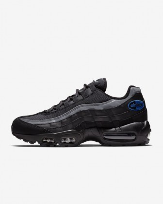 Uomo Scarpe Nike Air Max 95 Nero/Antracite/Game Royal BQ3168-002