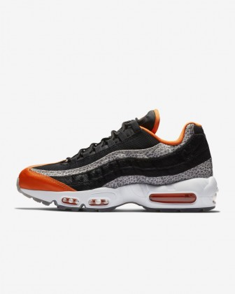 Nike Air Max 95 Uomo Scarpe da corsa Nero/Granite/Safety Arancio AV7014-002