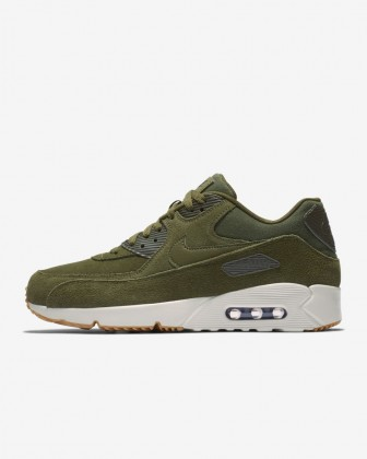 Olive Canvas/Light Bone/Gomma Medio Marrone Uomo Scarpe da corsa Nike Air Max 90 Ultra 2.0 924447-301