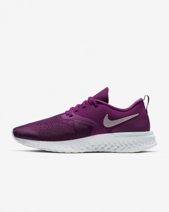 Donna Scarpe Nike Odyssey React Flyknit 2 Rosso lampone/Bordeaux/Teal Teal/Plum Chalk AH1016-600