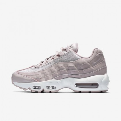 Donna Nike Air Max 95 SE Glitter AT0068-600 Particle Rose, Platino Puro, Bianco Scarpe da corsa