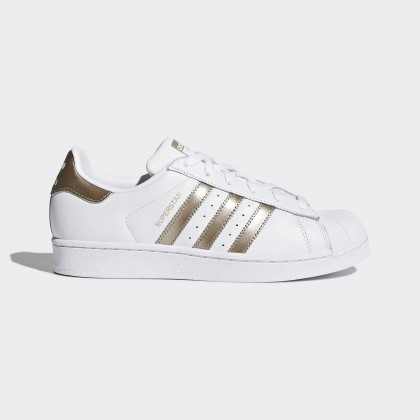 Adidas Originals Superstar Donna Scarpe Ftwr Bianco/Cyber Metallico CG5463