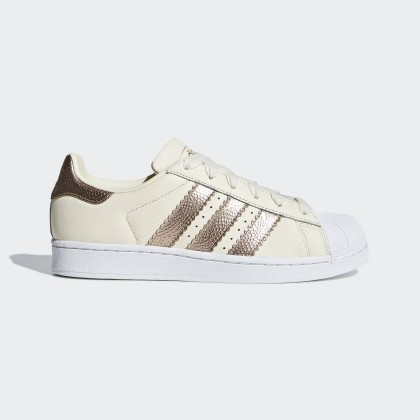 Adidas Donna Originals Superstar Off Bianco/Copper Met./Ftwr Bianco Scarpe CG6449
