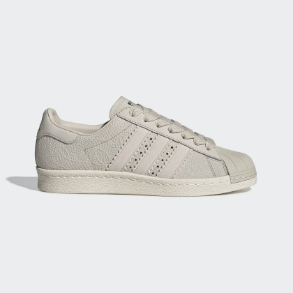 Adidas Originals Superstar 80s Clear Marrone/Off Bianco Donna Scarpe CG5938