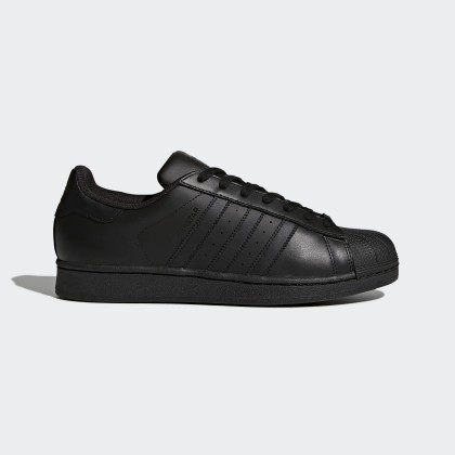 Donna, Uomo Adidas Originals Superstar Core Nero Foundation Scarpe AF5666