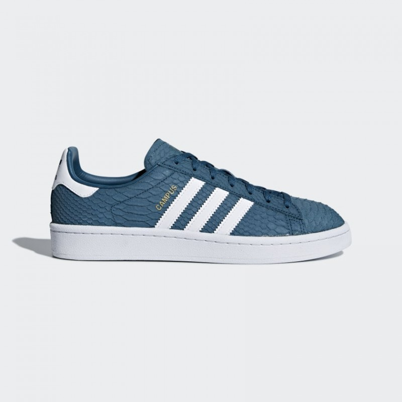 Adidas Originals Campus Donna Scarpe Petrol Night/Ftwr Bianco/Oro Metallizzato CQ2103