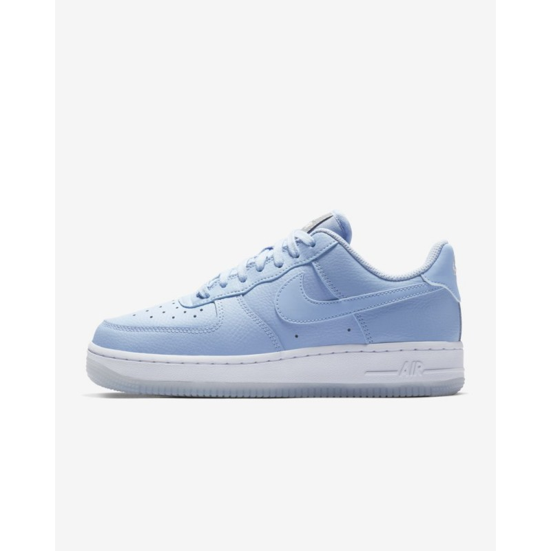 Donna Scarpe da corsa Nike Air Force 1 '07 Essential Lustro Alluminio/Bianco/Metallico AO2132-400