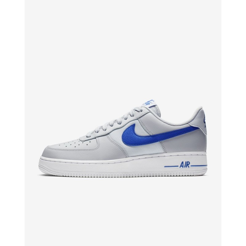 Nike Air Force 1 '07 LV8 Uomo Scarpe Puro Platino, Blu da Corsa CD1516-002