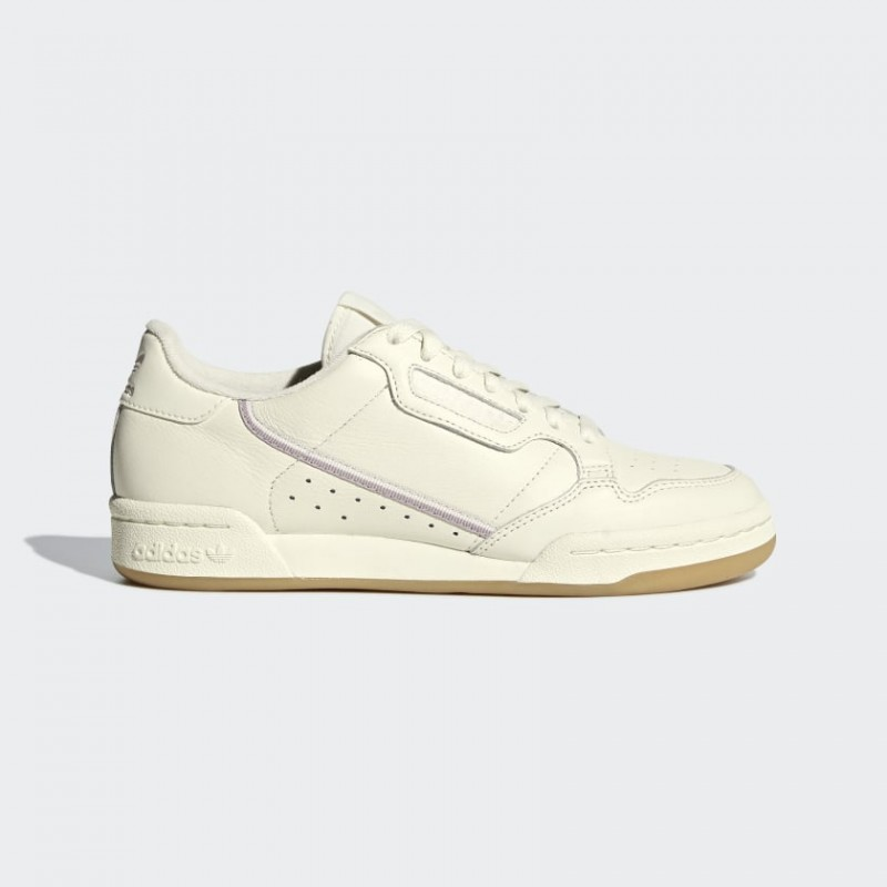 Adidas Originals Continental 80 Donna Scarpe Off Bianco, Orchid Tint, Soft Vision G27718