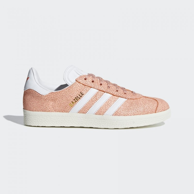 Adidas Originals Gazelle Donna Scarpe Clear Arancio/Ftwr Bianco/Off Bianco AQ0904