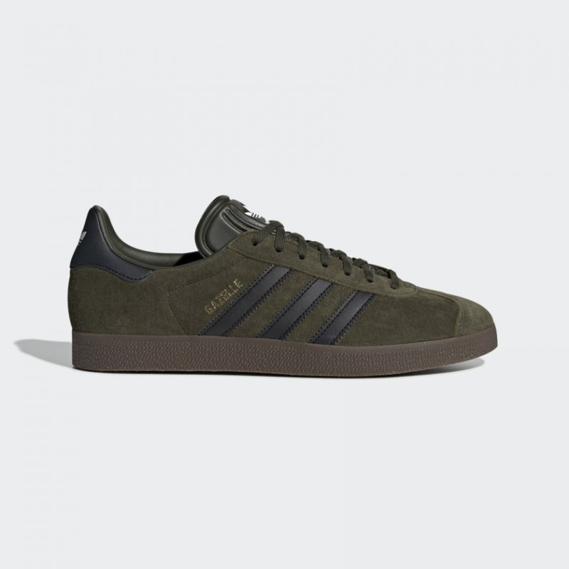 Adidas Originals Gazelle Donna Scarpe Night Cargo/Core Nero/Gum EE8947
