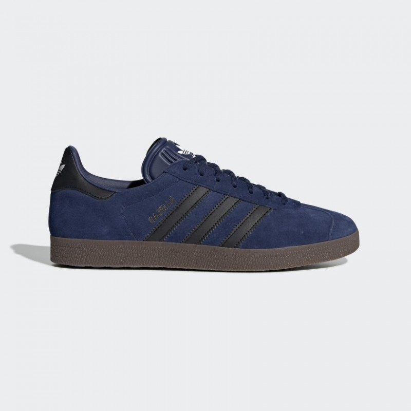 Blu Scuro/Core Nero/Gum Adidas Donna Originals Gazelle Scarpe EE8944