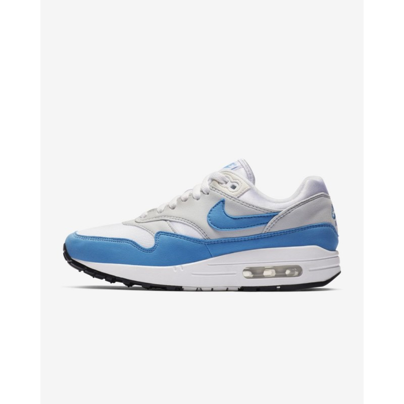 Nike Air Max 1 Essential Bianco/Università Blu Donna Scarpe BV1981-100