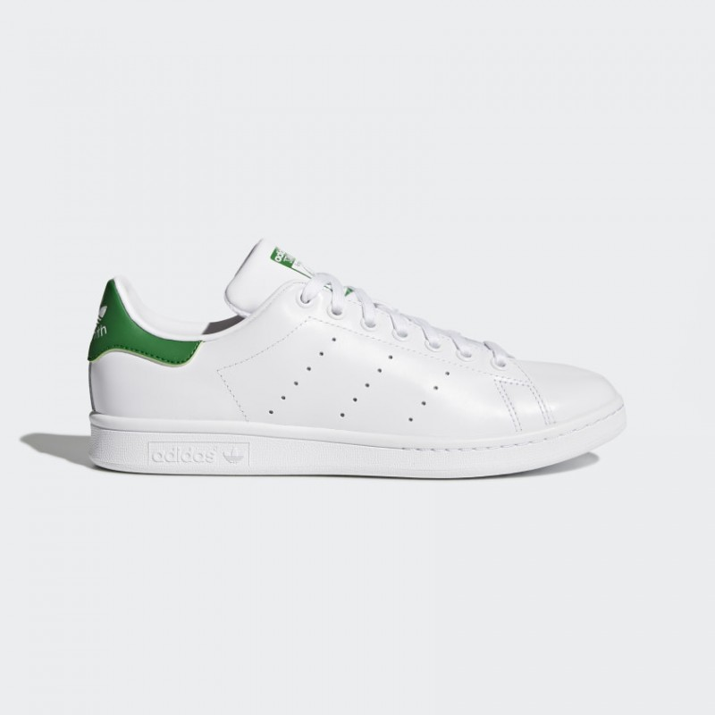 Adidas Originals Stan Smith Donna, Uomo Scarpe Footwear Bianco/Core Bianco/Verde M20324