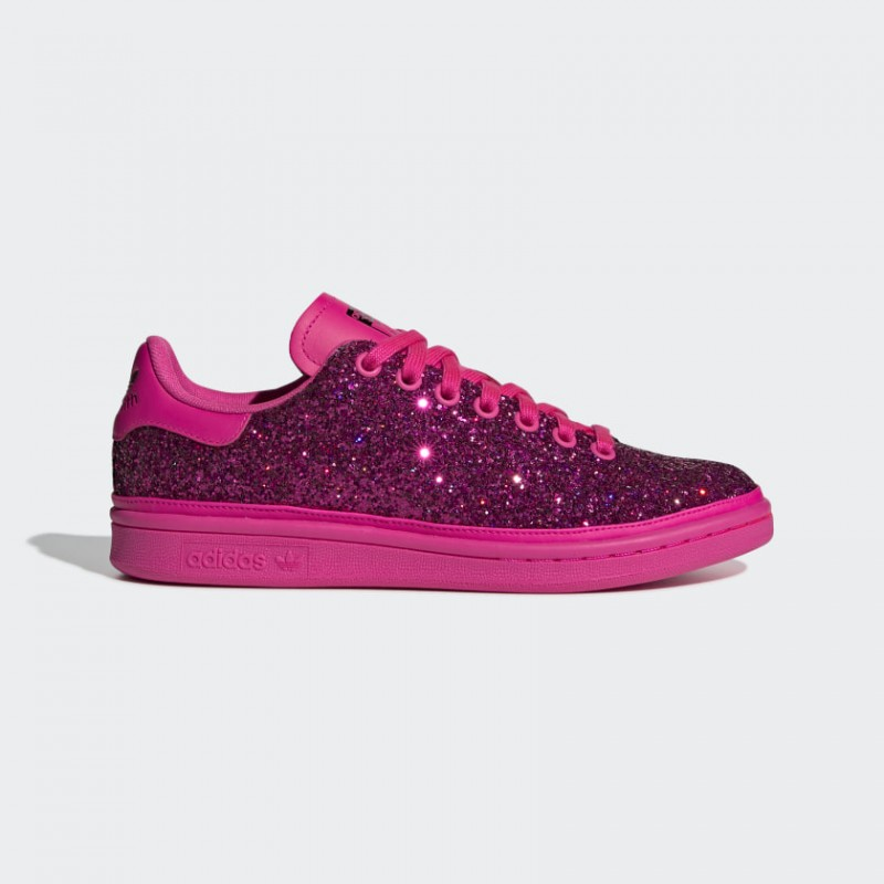 Adidas Donna Originals Stan Smith Scarpe Rosa Shock/Viola Collegiata BD8058
