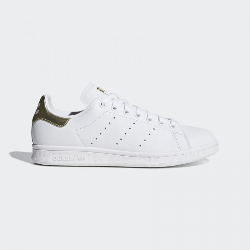 Adidas Originals Stan Smith Ftwr Bianco/Oro Met. Donna Scarpe EE8836
