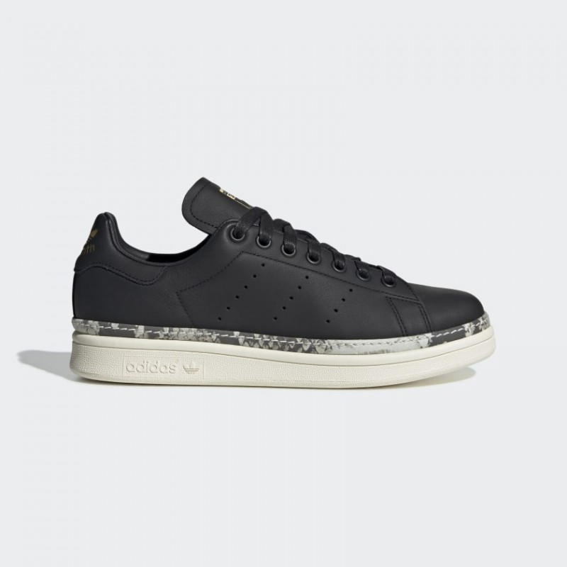 Adidas Originals Stan Smith New Bold Donna Scarpe Core Nero/Off Bianco/Colore del fornitore BD8053
