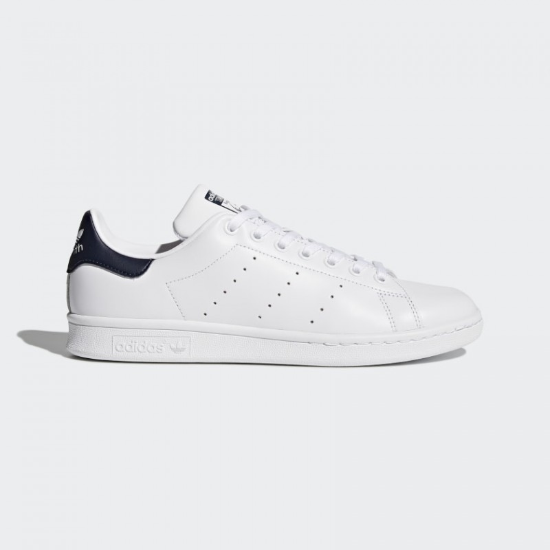 Donna/Uomo Adidas Originals Stan Smith Scarpe Core Bianco/Blu Scuro M20325